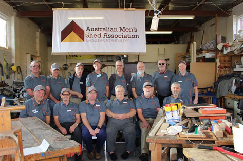 Emerald men's shed